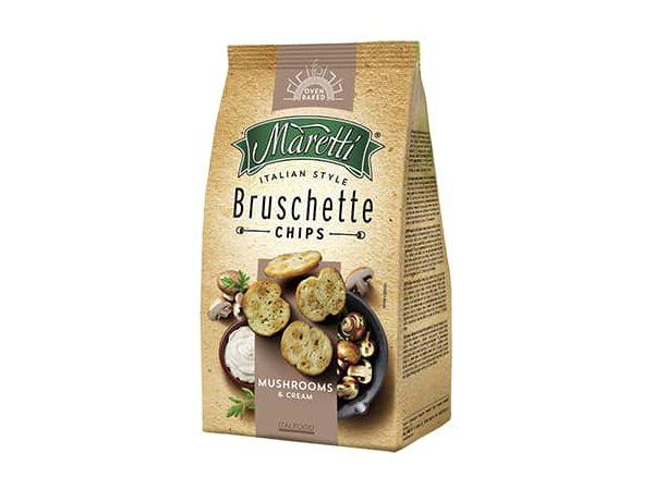 Maretti Snack  de Gogumelos & Creme 85g