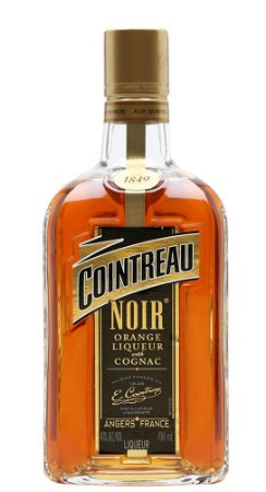 Coitreau  Noir Orange Liqueur  & Cognac   750ml