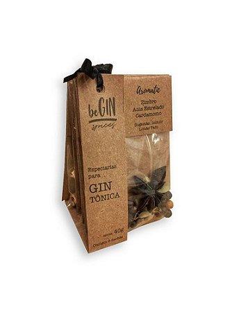 Be Gin Especiarias Para Gin 6 Saches 40g