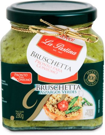 Bruschetta Creme de Aspargos Verdes  280g