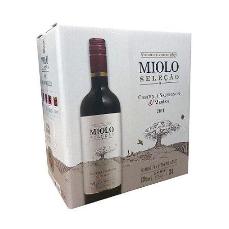 Miolo Seleção Cabernet Sauvignon & Merlot Bag Box 3l