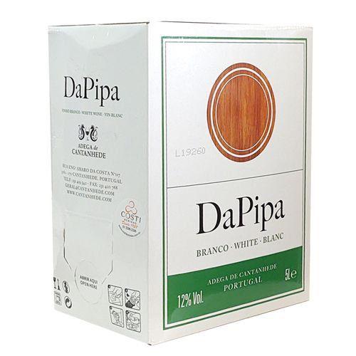 Da Pipa Bag in Box Branco  5L