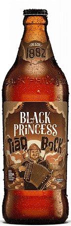 Cerveja Black Princess  Tião Bock  600 ml