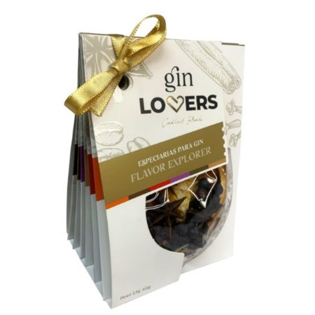 Especiarias para Gin - Gin Lovers 42g - 6 Sachês