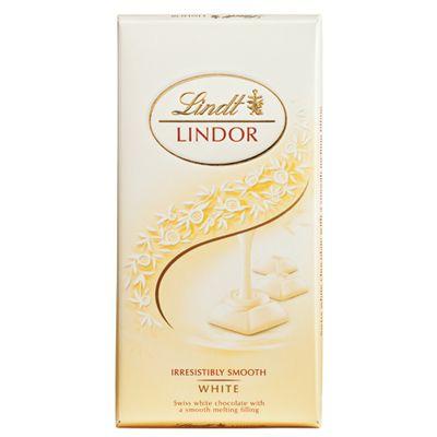 Chocolate Lindt Lindor White 100g