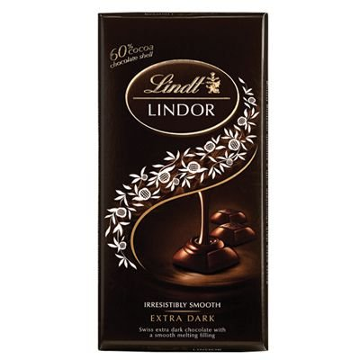 Chocolate Lindt Lindor Extra Dark  60% 100g