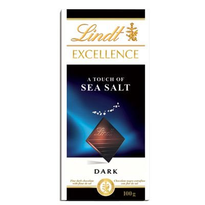 Chocolate Lindt Excellence Sea Salt 100g