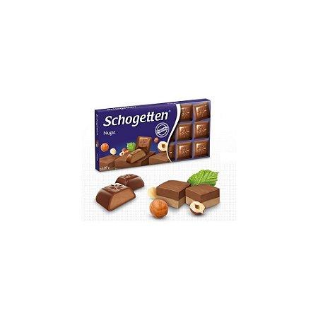 Chocolate Praliné Noisettes  Schogetten 100g - Recheado com Creme de Avelãs