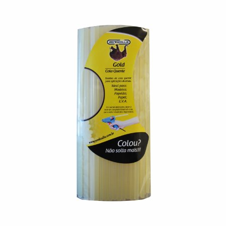 Cola Quente Bastão Refil Gold 7,5 x 30cm 1kg