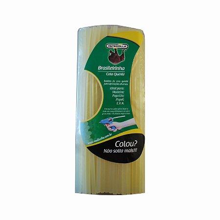 Cola Quente Bastão Refil Brasileirinha 7,5 x 30cm 1kg