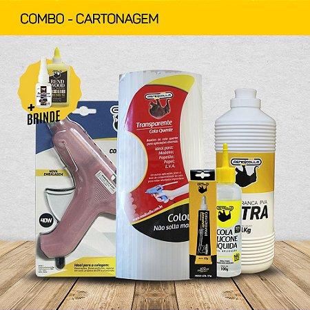 COMBO CARTONAGEM + BRINDE