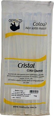 COLA QUENTE BASTÃO REFIL CRISTAL 11,2 X 30CM 1KG