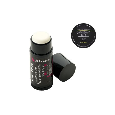 Pink Stick 5Km Protetor Solar Facial Incolor (FPS 90 / FPUVA 70) 14g