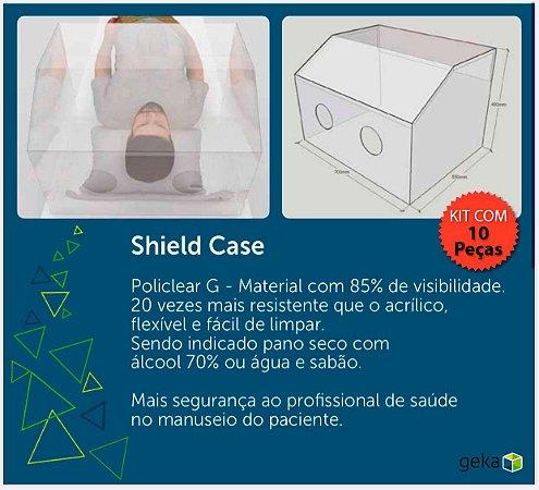 SHIELD CASE - PROTETOR DE LEITO HOSPITALAR - KIT COM 10 PEÇAS