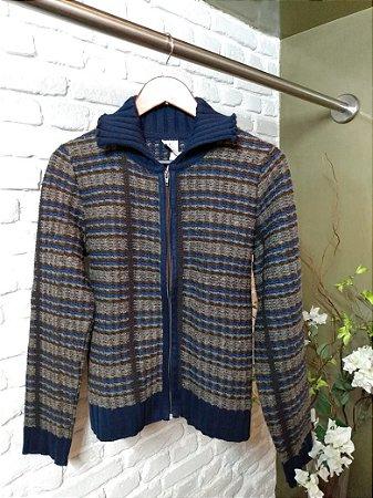 Jaqueta Lã com Zíper
