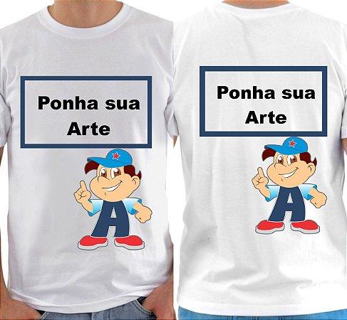 Camisa Personalizada Frente/Costa