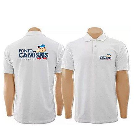 Kit com 10 camisas polo personalizadas