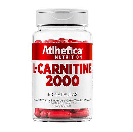 L-Carnitine 2000, Carnitina, Atlhetica Nutrition, 60 Cáps.