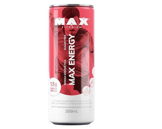 MAX ENERGY 269ml - FARDO com 6 latas - Max Titanium