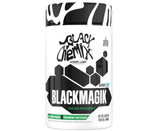 BLACK MAGIC, pré-treino, Under Lalz, 450g