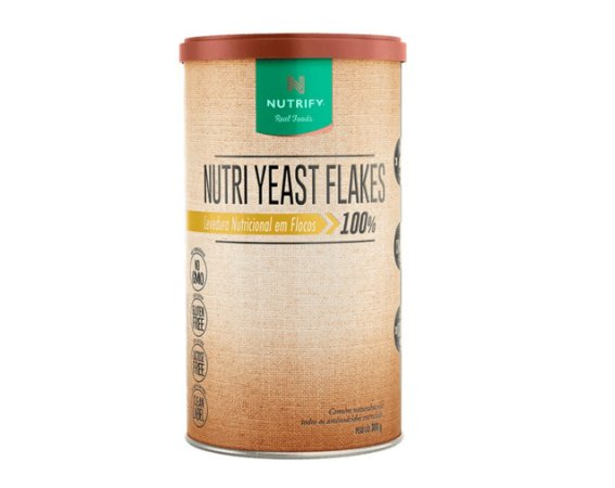 Nutri Yeast Flakes (Levedura Nutricional em Flocos), Nutrify, 300g