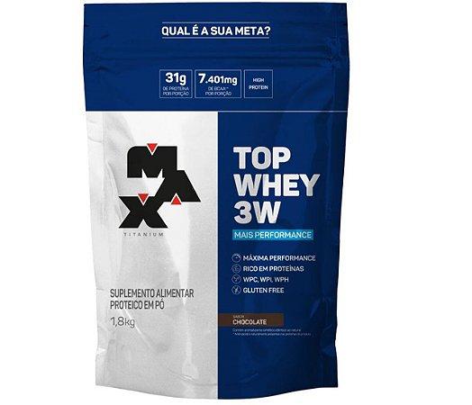 Top Whey 3W Performance REFIL 1,8Kg - Max Titanium