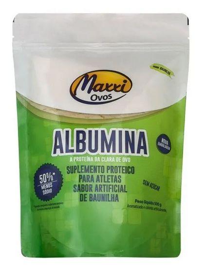 Albumina (500g) - proteína da clara do ovo Maxxi Ovos