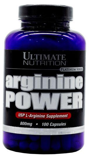 ARGININE POWER 800mg 100 caps - Arginina ULTIMATE NUTRITION