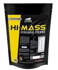 HI-MASS 15000 - HI MASS HIPERCALÓRICO MASSA 3KG LEADER NUTRITION