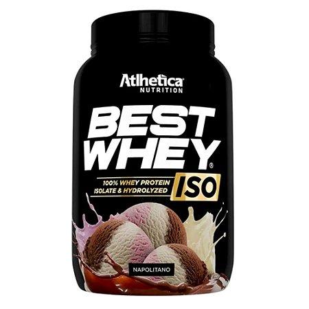BEST WHEY ISO, Atlhetica Nutrition, 900g, wph e wpi