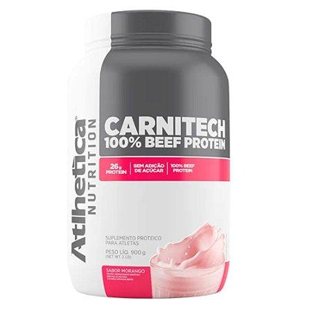 CARNITECH 100% BEEF PROTEIN, Proteína da carne, Atlhetica Nutrition, 900g