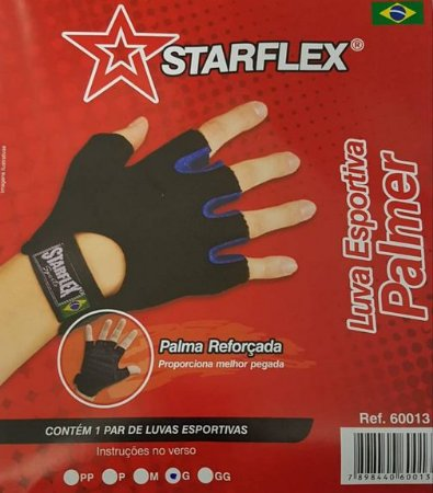 Luva Esportiva (Medio) - PALMER AIR FIT - Starflex