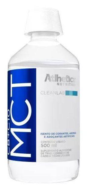 MCT C8+C10 (500ml) - TCM Triglicerídeos Atlhetica Nutrition Coenzima