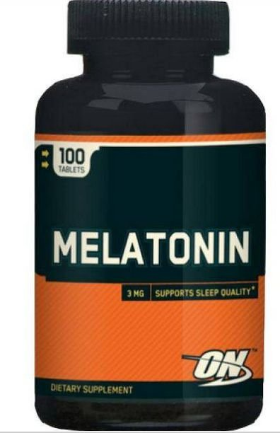 Melatonin (3Mg) 100 caps - melatonina Optimum Nutrition