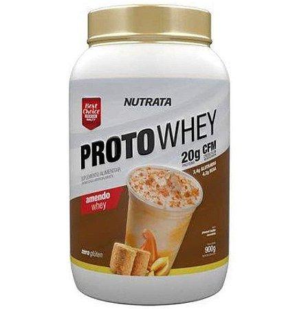 Proto Whey 900g - Whey Concentrado Wpc Nutrata