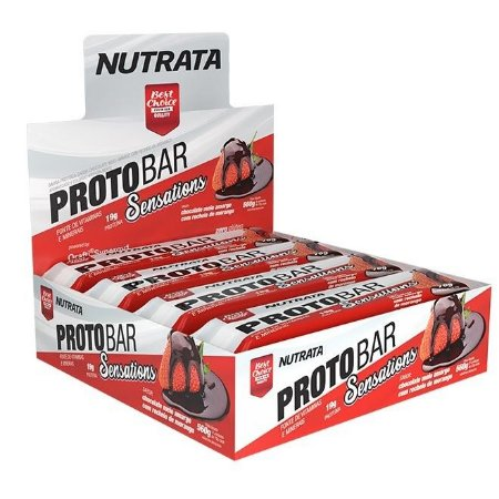 Protobar caixa 8 unidades - Barra de proteína Nutrata