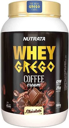 Whey Grego 3w COFFEE CREAM (900g) - NUTRATA