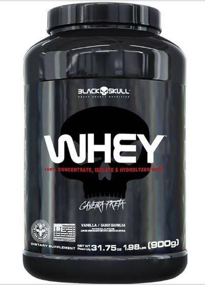 WHEY (900g) - Concentrado Wpc BLACK SKULL