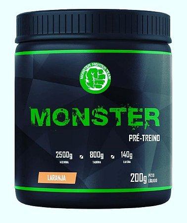 Monster Pré-Treino (200g) - Monster Fighter Team