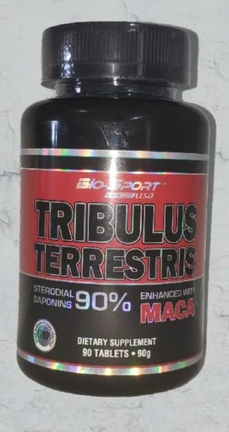 Tribulus com Maca Peruana 90 Tabletes - BIO-SPORT USA 90%