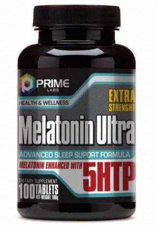 Melatonin Ultra (100 Tabs) - melatonina Prime Labs