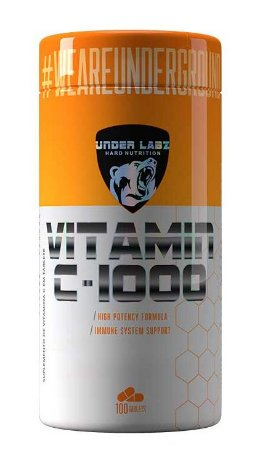 Vitamina C 1000 (100 tabletes) - UNDER LABZ