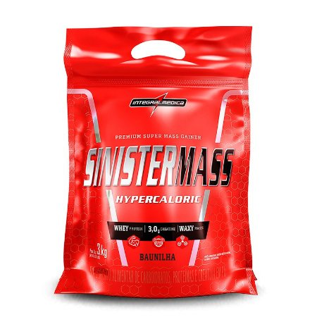 Sinister Mass 3Kg - Hipercalórico integralmédica