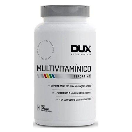 MULTIVITAMÍNICO, Dux Nutrition Lab, 90 Caps.