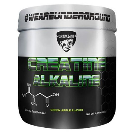 CREATINE ALKALINE, Under Labz, Creatina Alcalina, 200g