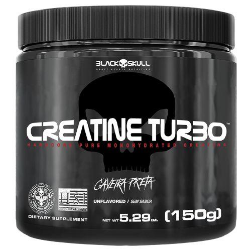 CREATINE TURBO, Black Skull, Creatina, 150g