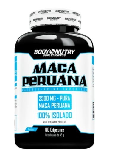 Maca Peruana - 60 Cápsulas - Body Nutry