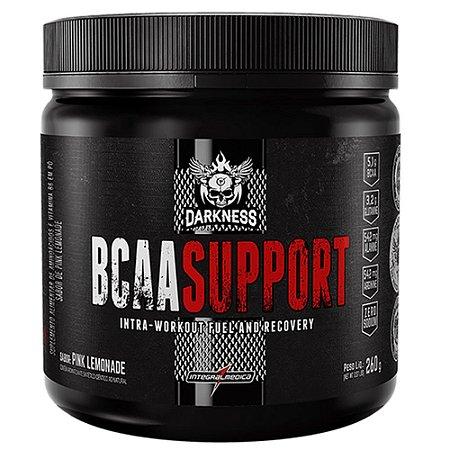 BCAA SUPPORT, Darkness, Bcaa com Glutamina, 260 g, Integralmedica