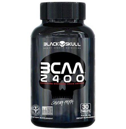 BCAA 2400, Black Skull, 30 Tablets, 2:1:1