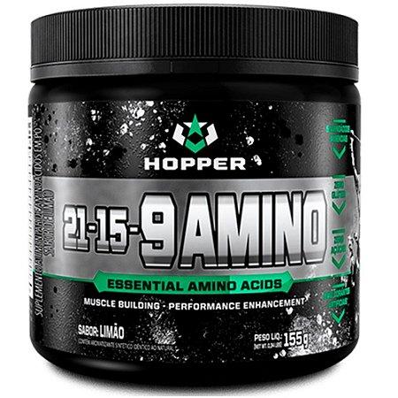 21-15-9 AMIMO, Hopper Nutrition, 9 Aminoácidos Essenciais, 155g